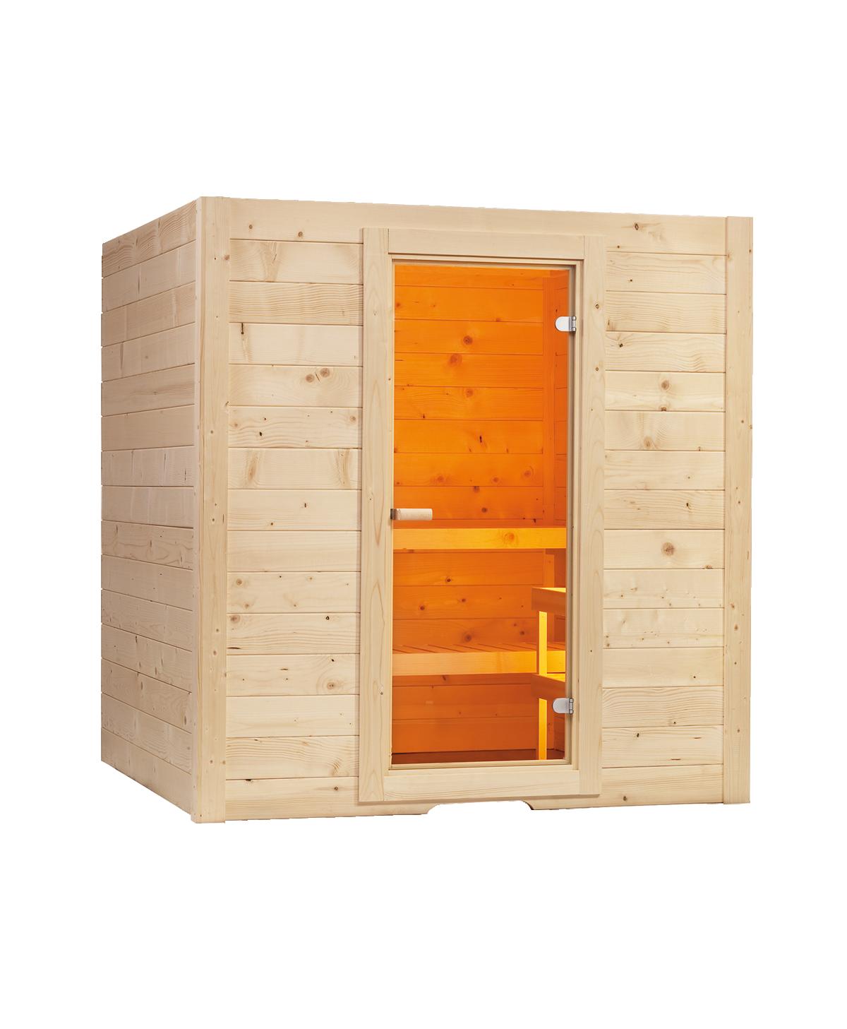 Sauna Basic Massiv Large