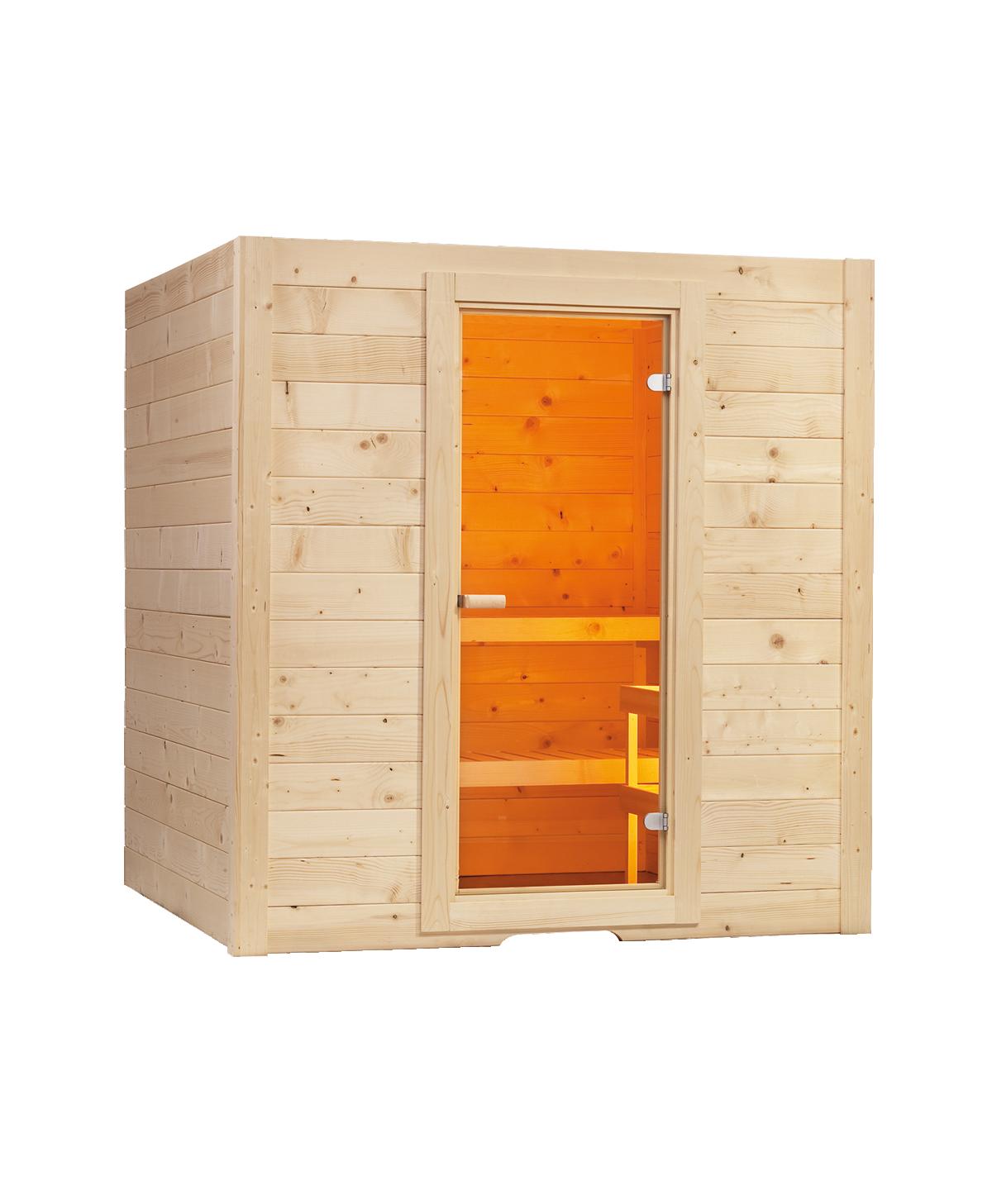 Sauna Basic Massiv Medium