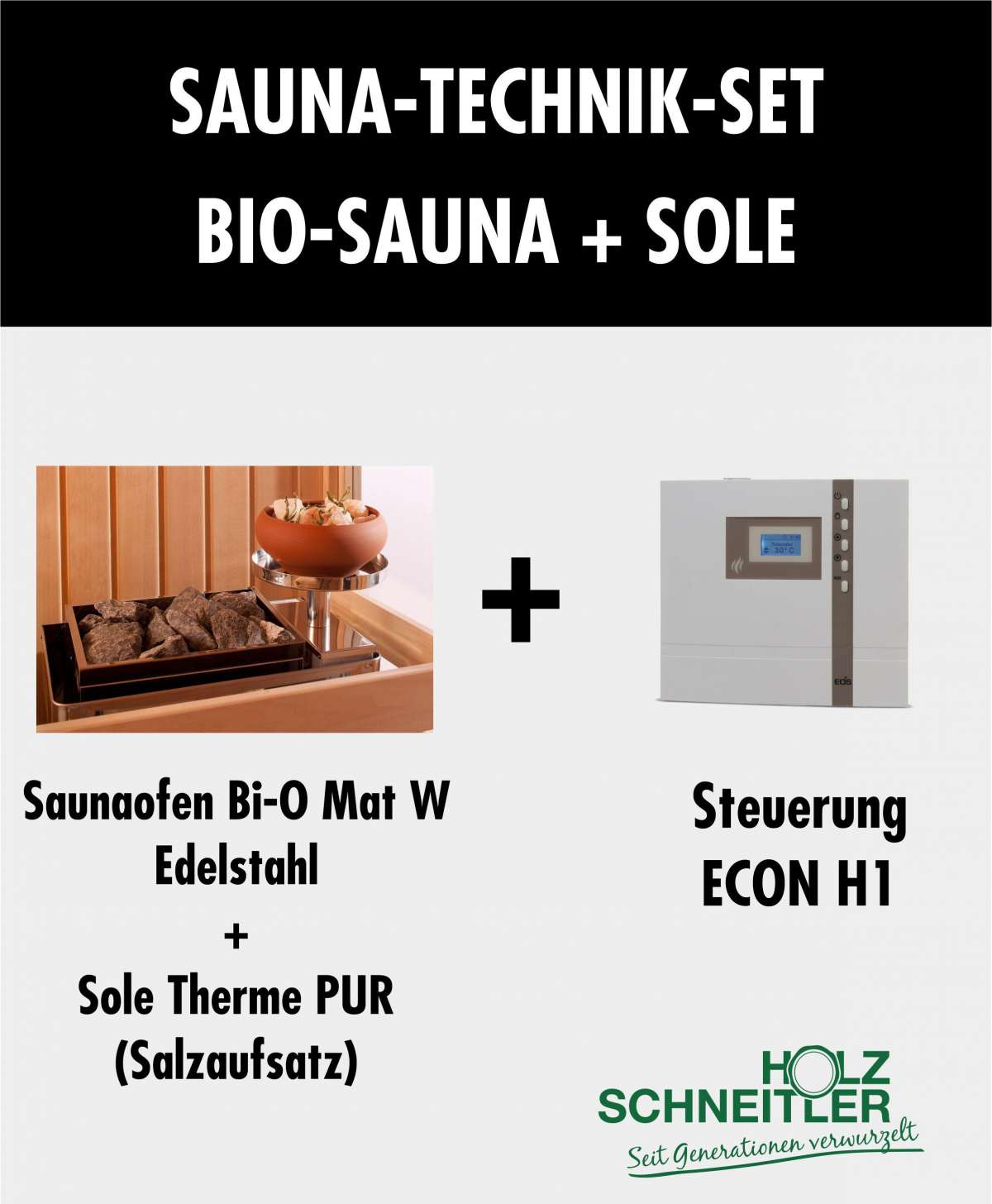 Sauna Set BIO sole