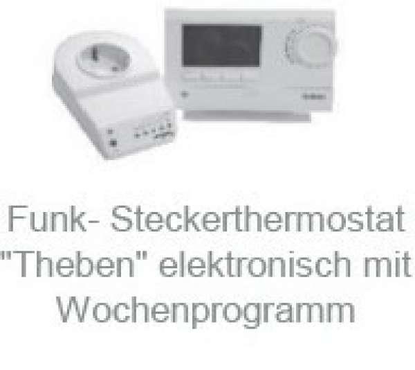 Funk Steckerthermostat Theben elektronisch mit Wochenprogramm