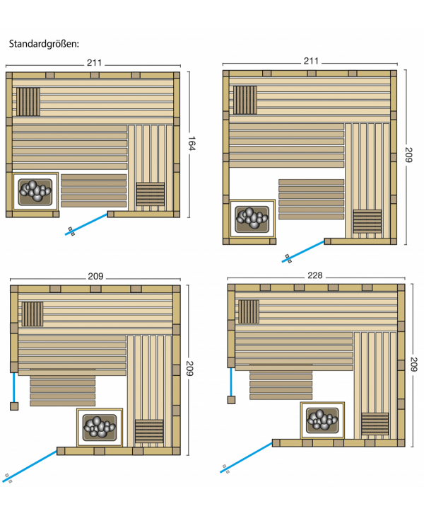 Sauna Urban Grundriss