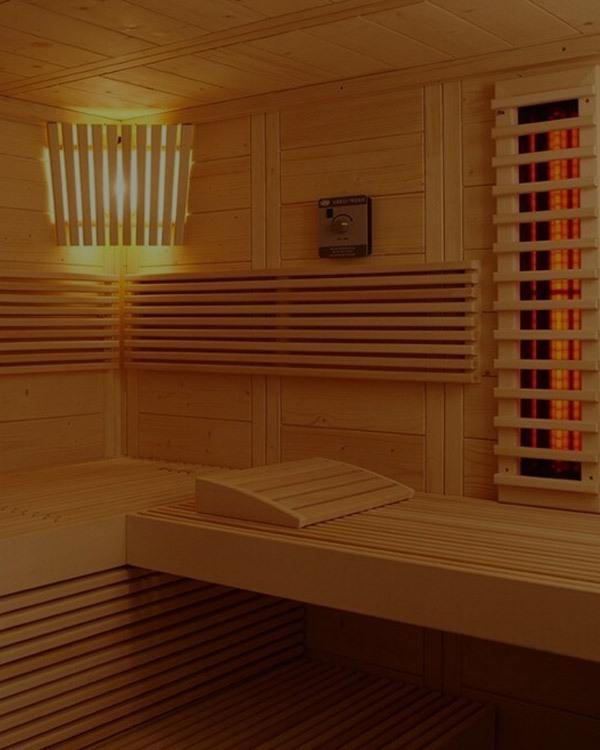 Sauna alaska corner infra